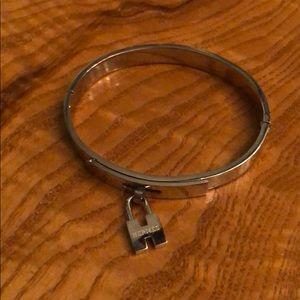 Jewelry - Silver H Charm Bracelet Never Worn